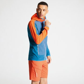 Appertain II leichte Softshell-Jacke für Herren Atlantic Blue Blaze Orange