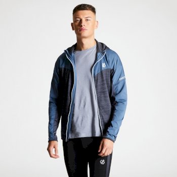 Ratified - Herren Stretchjacke - Kapuze Quarry Meteor Grey