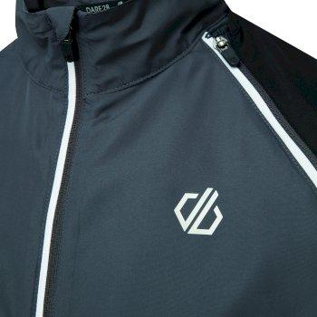 Oxidate leichte Windshell-Jacke für Herren Schwarz