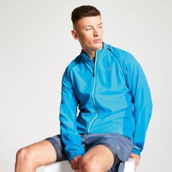 Oxidate leichte Windshell-Jacke für Herren Blau