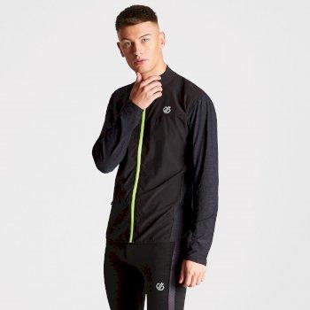 Dare2b Men's Enkindle Temperature Regulating Windshell Jacket Black