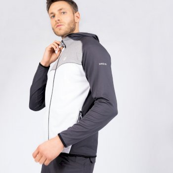 Ratified II Core Stretch-Midlayer mit Kapuze für Herren Weiß