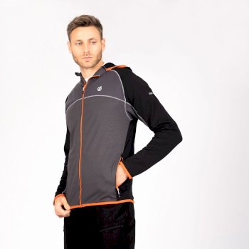 Ratified II Core Stretch-Midlayer mit Kapuze für Herren Grau