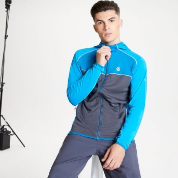 Ratified II Core Stretch-Midlayer mit Kapuze für Herren Blau