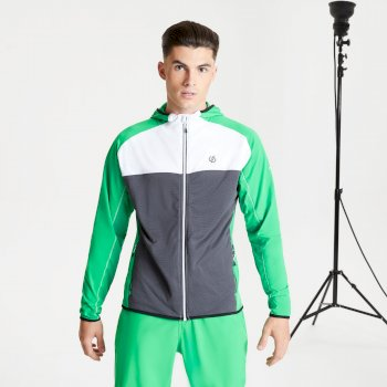 Ratified II Core Stretch-Midlayer mit Kapuze für Herren Grün