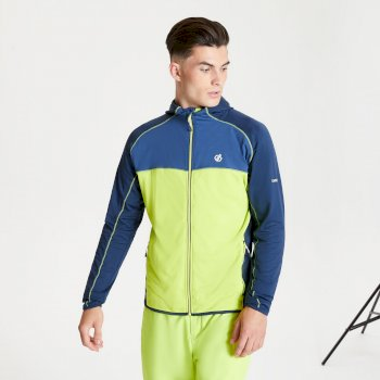 Ratified II Core Stretch-Midlayer mit Kapuze für Herren Gelb