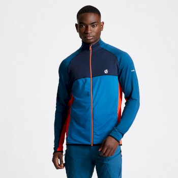 Riform II Core Stretch-Midlayer für Herren Blau