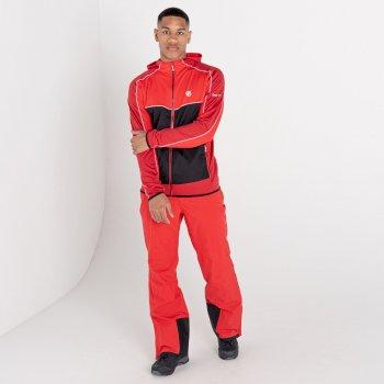 Revived Core Stretch-Midlayer mit Kapuze für Herren Rot