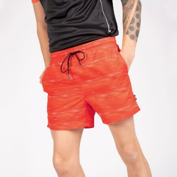 Dare 2b The Jenson Button Edit - Retread Lightweight Shorts - Trail Blaze Red