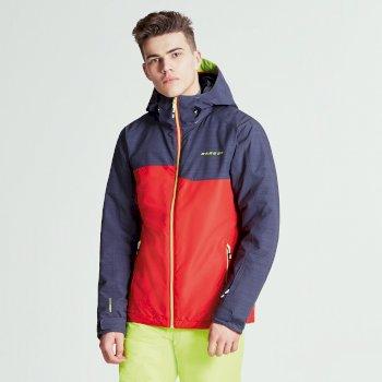 Declarate Herren-Skijacke Code Red Ebony Grey