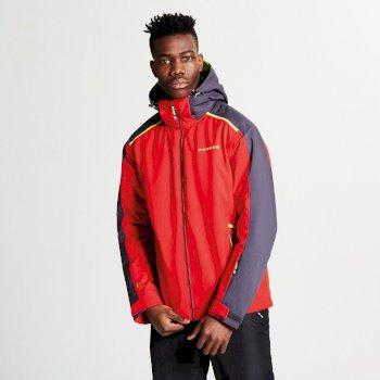 Dare 2b Men's Educe Ski Jacket - Code Red Ebony Grey