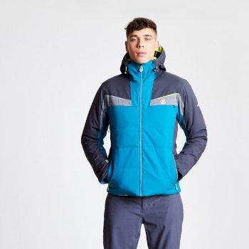Revolute - Herren Skijacke Ozeanblau/Tiefschwarz