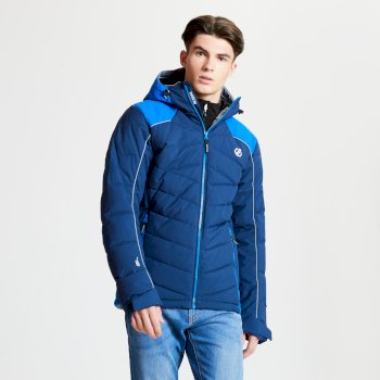 Maxim - Herren Skijacke - gesteppt Admiral Oxford Blue