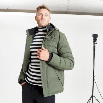 Jenson Button Kollektion - Endless wasserdichte, isolierte Jacke mit Kapuze für Herren Grün