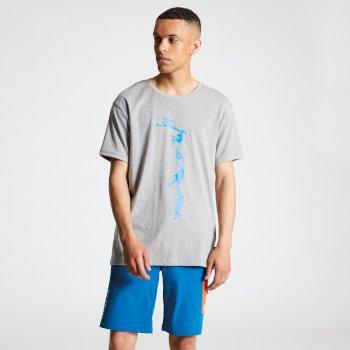 Dare2b Men's Alarm Graphic T-Shirt Ash