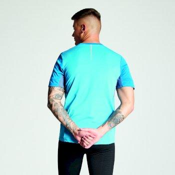Equall Fahrrad-Trikot für Herren Atlantic Blue