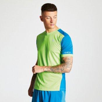 Unifier - Herren T-Shirt - leicht & belüftet Jasmingrün Petrolblau
