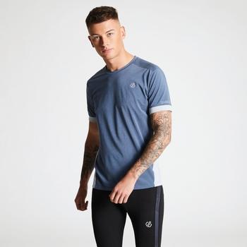 Unifier - Herren T-Shirt - leicht & belüftet Meteor-Grau/Taubengrau
