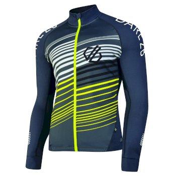 AEP Expatiate Fahrrad-Trikot für Herren mit durchgehendem Reißverschluss und vielen Taschen Quarry Grey