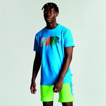 Dare2b Men's Dynamism Graphic T-Shirt Atlantic Blue