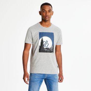 Strife - Herren T-Shirt mit Grafik-Print Ash Marl