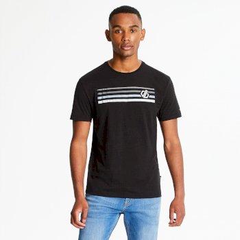 Strife - Herren T-Shirt mit Grafik-Print Black