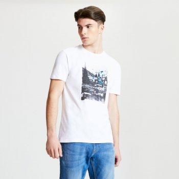 Strife - Herren T-Shirt mit Grafik-Print White