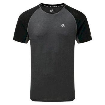 Conflux Woll-T-Shirt für Herren Grau
