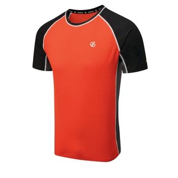 Conflux Woll-T-Shirt Für Herren Rot