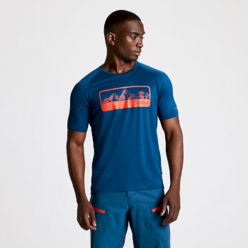 Righteous II Graphic T-Shirt für Herren Blau