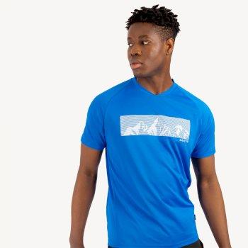Righteous II Graphic T-Shirt für Herren Blau