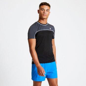 Notable leichtes T-Shirt für Herren Schwarz