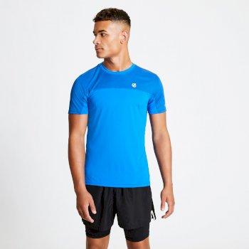 Notable leichtes T-Shirt für Herren Blau