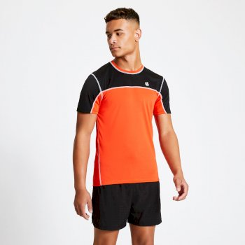Dare2B Notable Tee - Trail Blaze Red Black