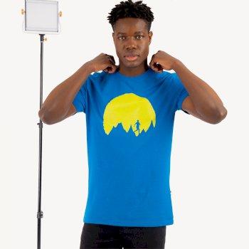 Determine Graphic T-Shirt für Herren Blau