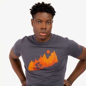 Determine Graphic T-Shirt Für Herren Grau