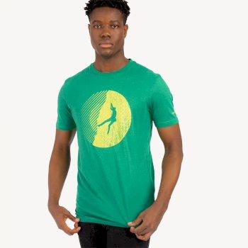 Determine Graphic T-Shirt Für Herren Grün