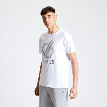 Dare2B Continuous Tee - White