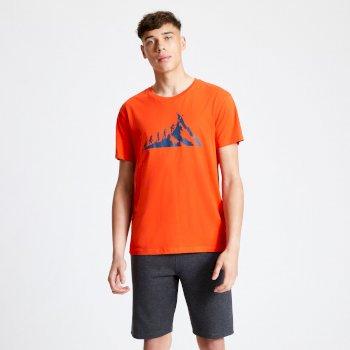 Integrate Graphic T-Shirt für Herren Rot