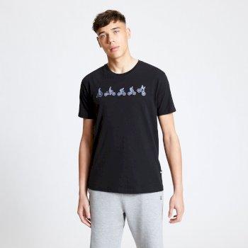 Integrate Graphic T-Shirt für Herren Schwarz