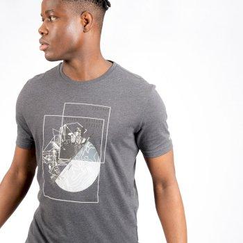 Stringent Graphic T-Shirt für Herren Grau