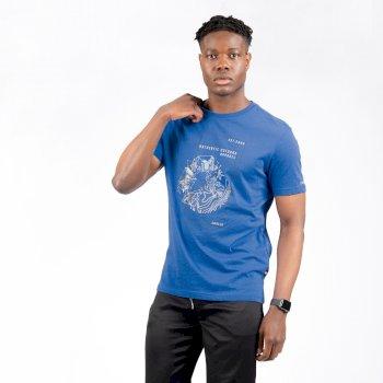 Stringent Graphic T-Shirt für Herren Blau