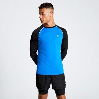 Realize Langarmshirt für Herren Blau