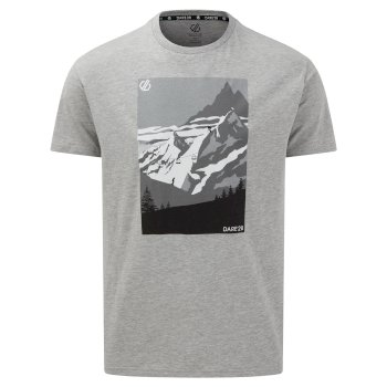 Dare 2b The Jenson Button Edit - Devout II Graphic T-Shirt - Ash Grey