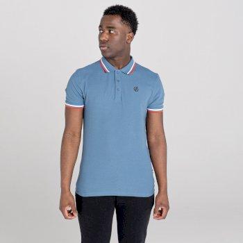 Jenson Button Kollektion - Precise Poloshirt Für Herren Blau