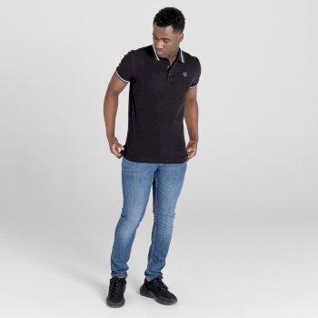 Dare 2b The Jenson Button Edit - Precise Polo Shirt - Black
