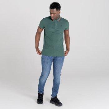 Jenson Button Kollektion - Precise Poloshirt Für Herren Grün