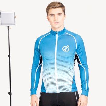 Virtuosity Langärmliger AEP-Jersey Für Herren Blau