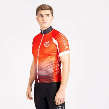 Dare 2b Men's Virtuosity Short Sleeved AEP Jersey - Trail Blaze Gradient