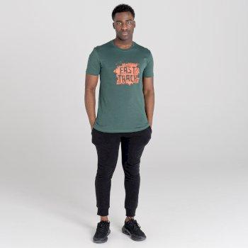 Jenson Button Kollektion - Dubious kurzärmeliges Grafik-T-Shirt für Herren Grau